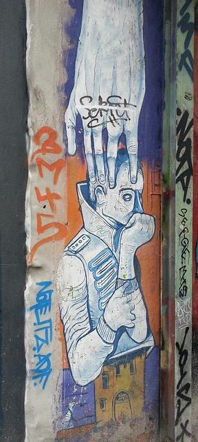 Free graffiti street art murals art