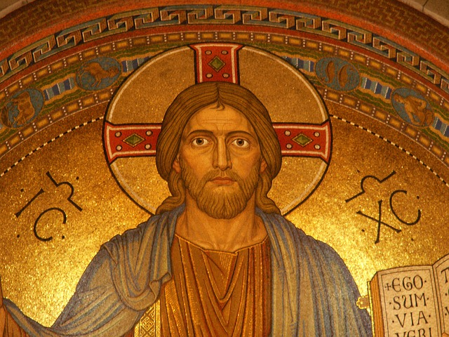 Free Photos: Christ religion jesus mosaic gold maria laach | Thomas B.