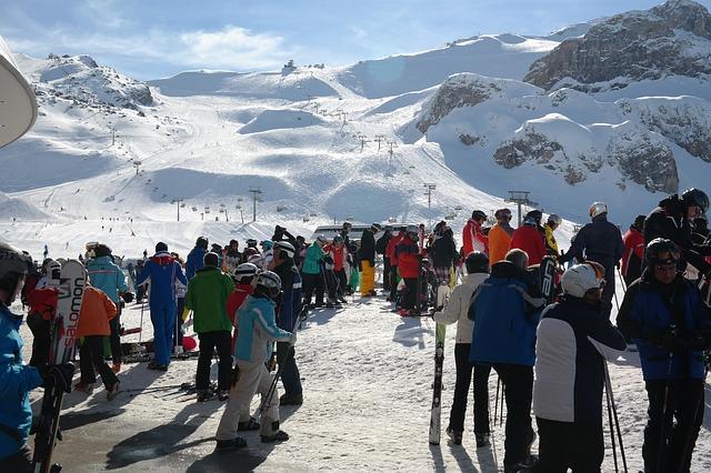 Free ischgl ski area skiing skiers ski resort human