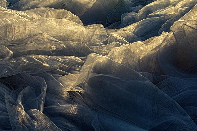 Free net fabric sun light texture material mountains
