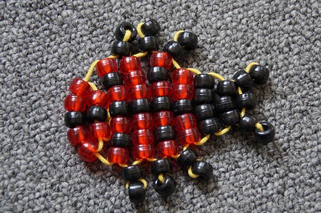 Free ladybug lucky ladybug tinker tinkered linked beads