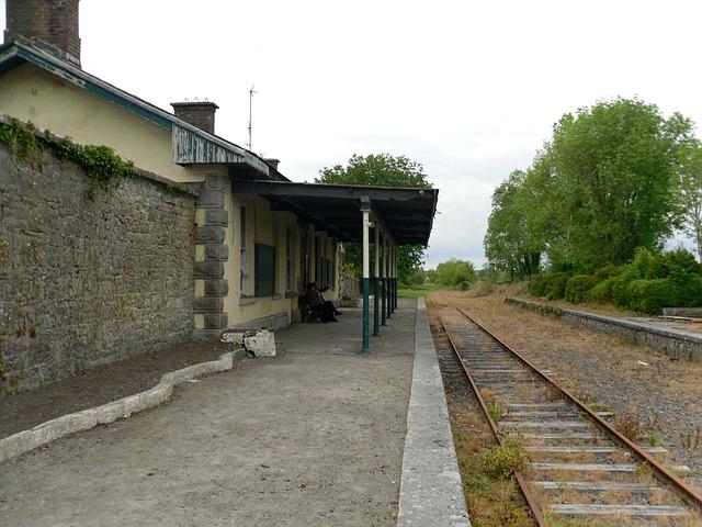 Free ireland ballyglunin railway station county galway