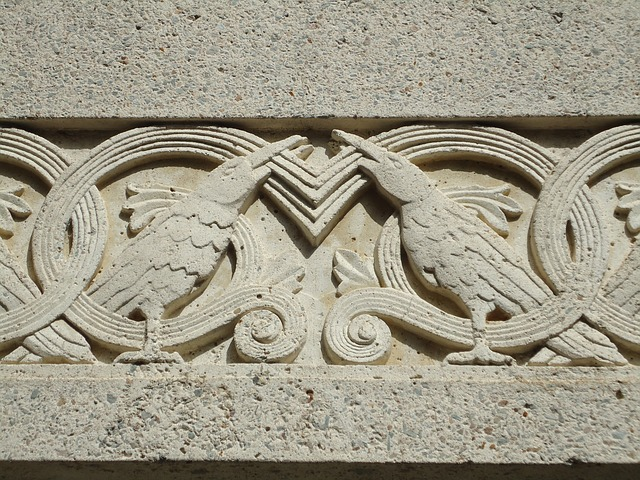Free architecture carving historic