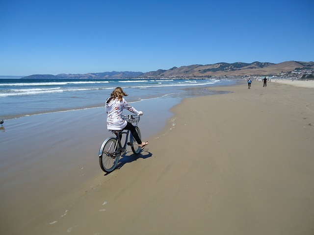 Free pismo beach bicycle california
