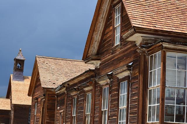Free ghost town bodie rustic historic buildings