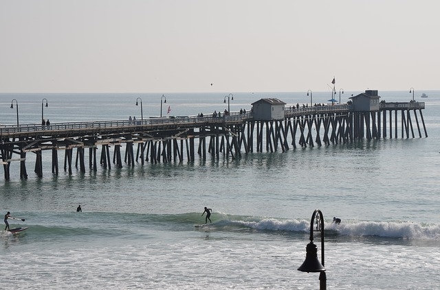 Free pier san clemente ocean