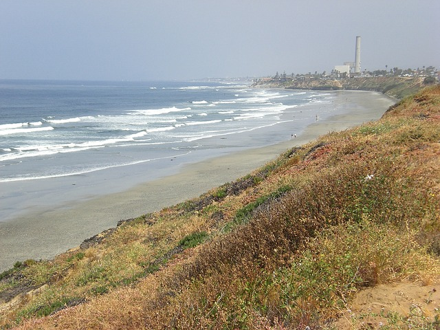 Free carlsbad beach waves