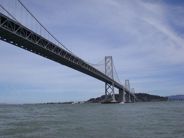 Free bay bridge san francisco bay california