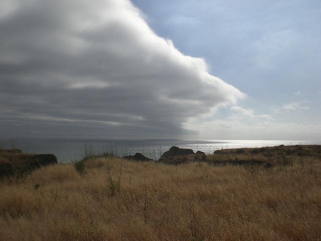 Free california coast weather clouds sky