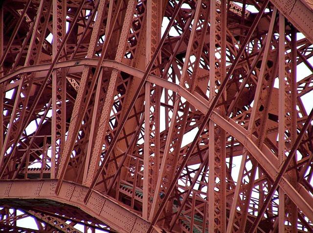 Free garabit-viaduct steely railway bridge truyère