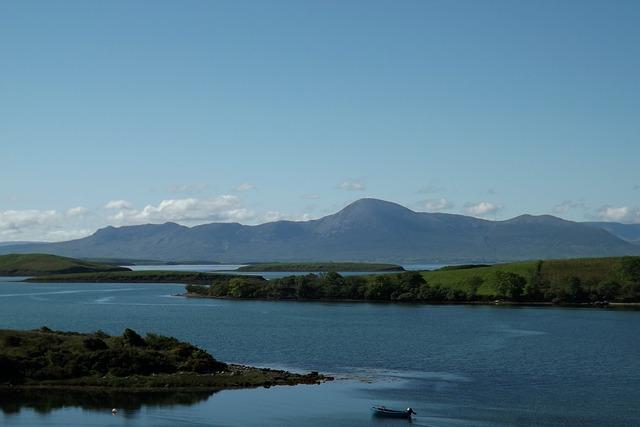 Free ireland county galway lough corrib lake boat