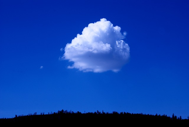 Free sky blue cloud color nature landscape
