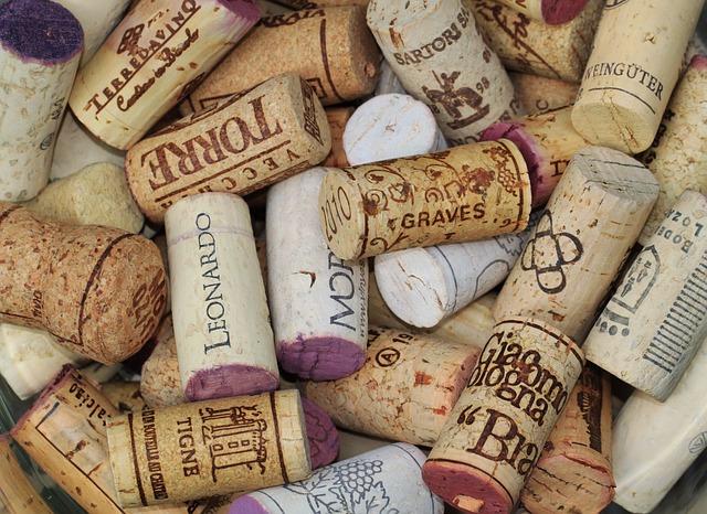Free cork wine corks bottle corks labels closures wine