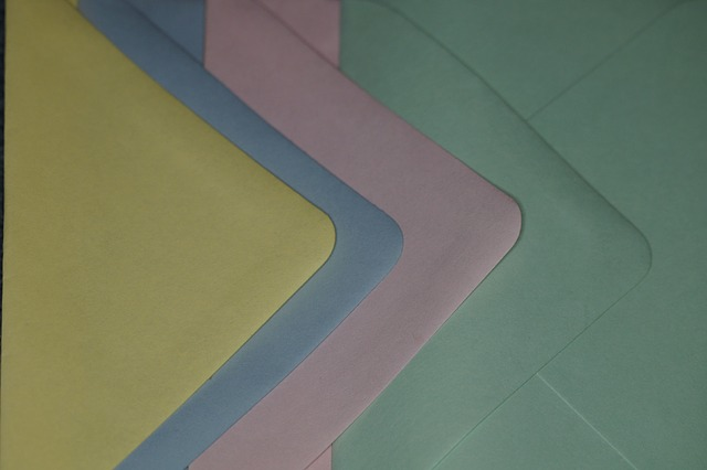 Free colorful pastel pastellfarben envelopes letters