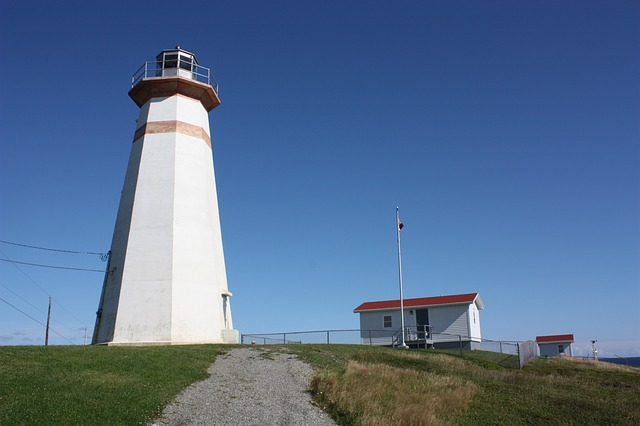 Free lighthouse cape ray lighthouse newfoundland canada