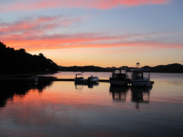 Free port evening croatia