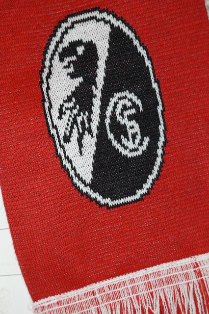 Free freiburg fanartikel scarf emblem logo