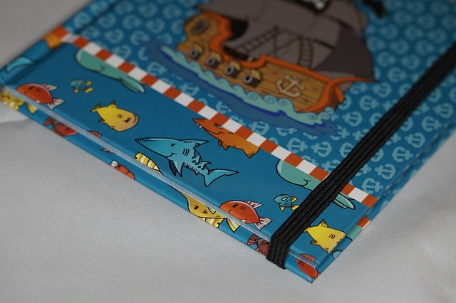Free notebook boy child children pirate maritime book