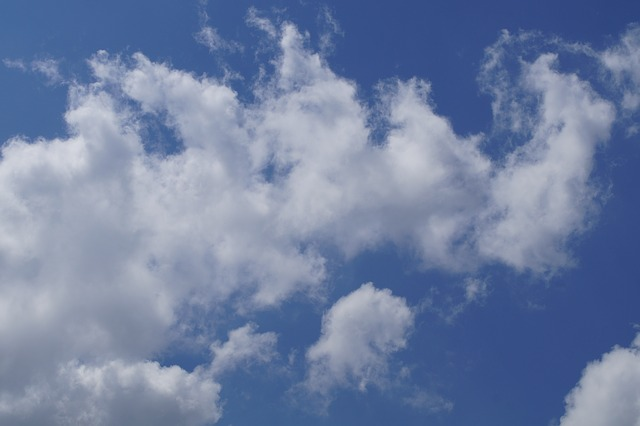 Free sky blue cloud white clouds clouds summer day