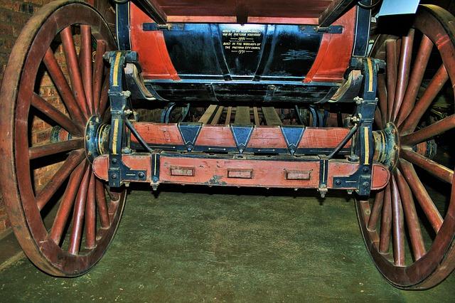 Free carriage wheels wheels round wood spokes sturdy