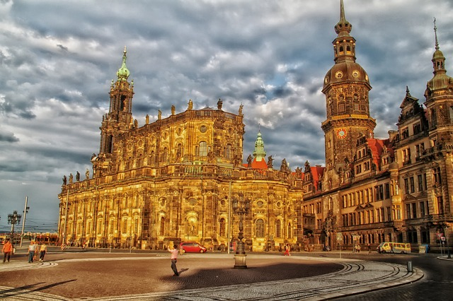 Free dresden germany buildings palaces architecture hdr