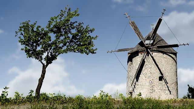 Free windmill mill old windmill monument