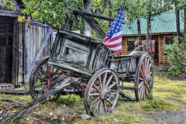Free old wooden wagon wild west southern usa