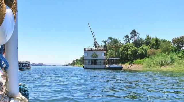 Free holiday river ship bank travel boot more nature