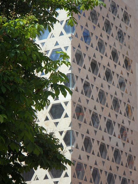 Free synagogue modern building ulm facade jews judaism