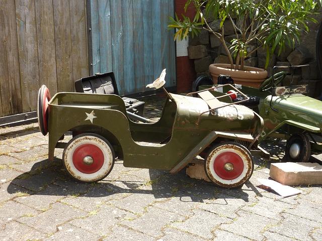 Free toys military vehicle old spilelzeugauto