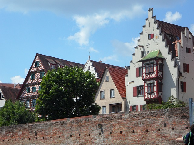 Free city view bowever ulm city scenery homes