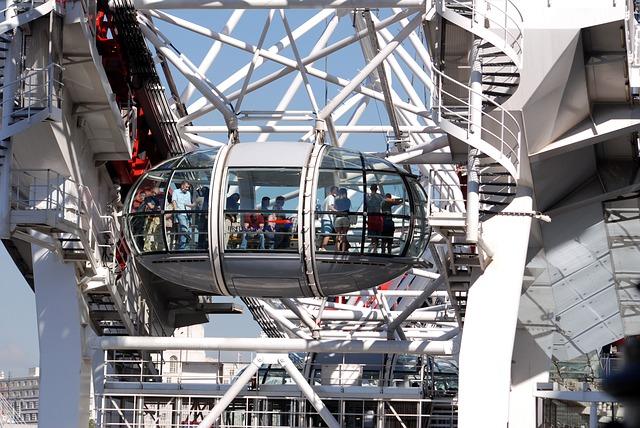 Free london eye ferris wheel london tourism