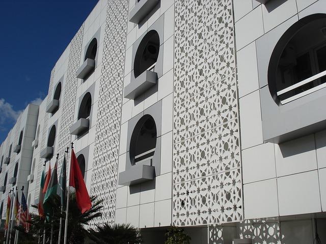 Free casablanca architecure morocco mosaic