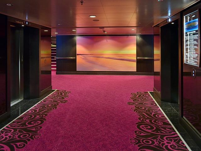 Free space interior facilities carpet luxury nobel