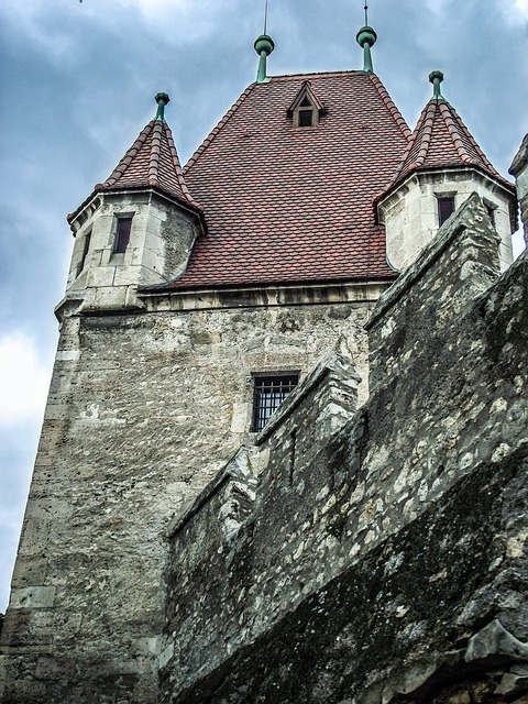 Free building architecture window austria masonry stone