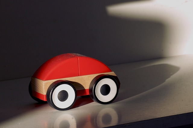 Free wooden car toy car simply children toys toys