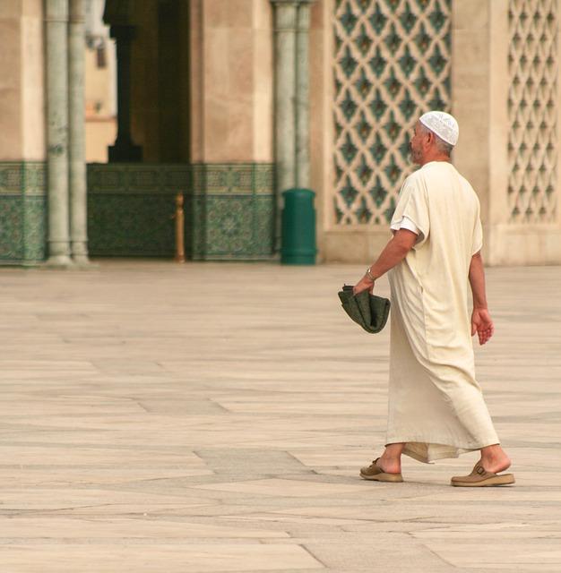 Free morocco casablanca mosque man prayer islam muslim