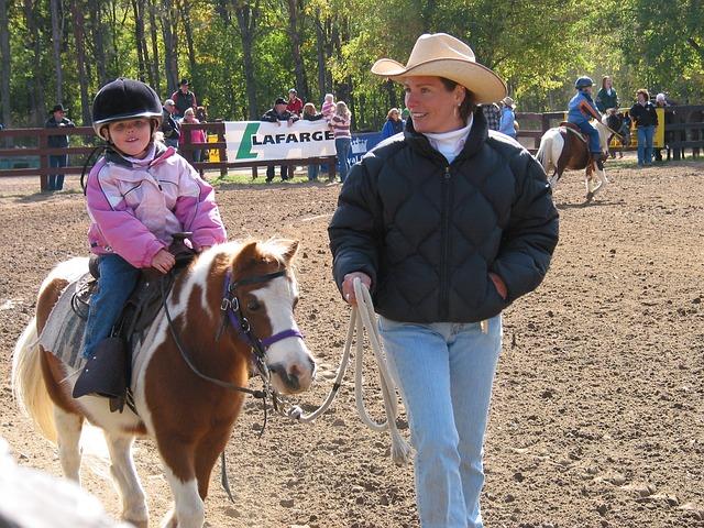 Free girl riding pony woman cowboy pony riding
