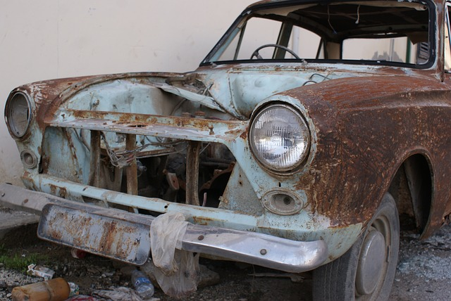 Free scrap car rust