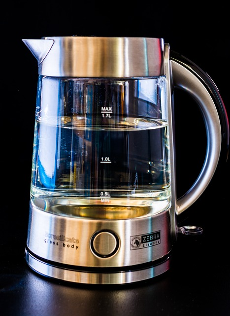 Free kettle glass water blow geraert hot cook