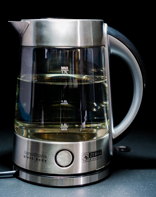Free Photos: Kettle glass body stainless steel | Josch13