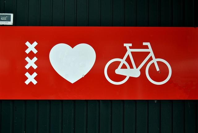 Free amsterdam biciclete love