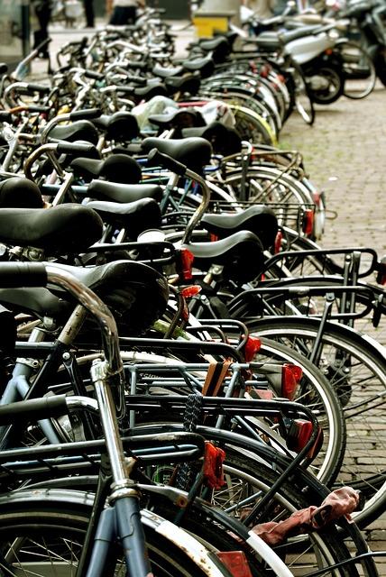 Free amsterdam bicicletes saddle