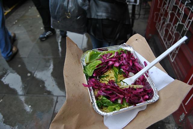 Free food salad colorful
