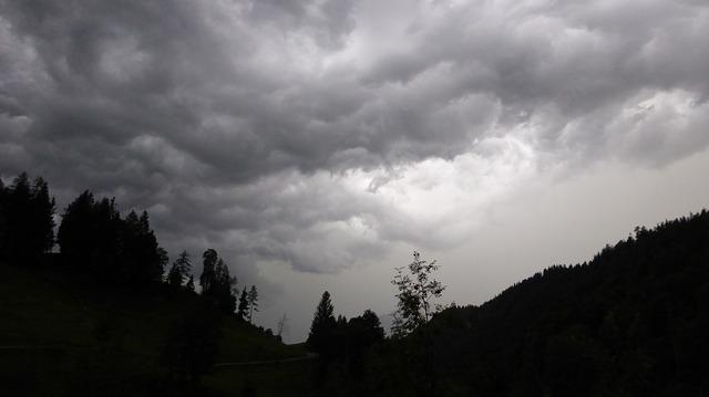 Free gewitterstimmung nature clouds landscape