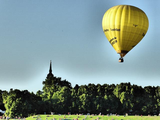 Free captive balloon hot air balloon air sports balloon