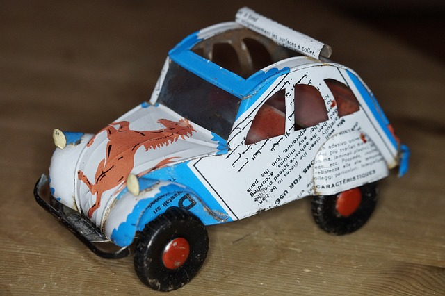 Free can car auto sheet toy car africa box from cans