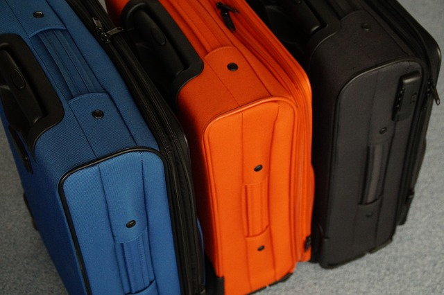 Free luggage go away packaging holiday travel colorful