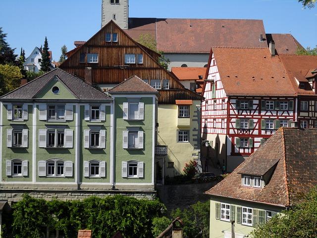 Free lake constance fachwerkhäuser meersburg facades