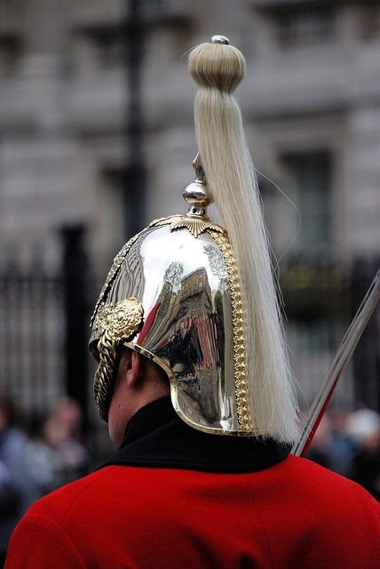 Free guard man helmet plume life guards ceremonial